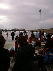 ijspret op het bokkegat