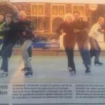 Schaatsen in de ijsfabriek in Vlissingen