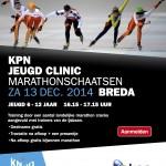 Jeugd marathon schaats clinic