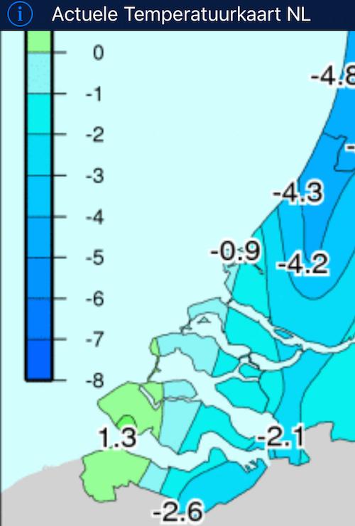 temperatuurkaart bokkegat